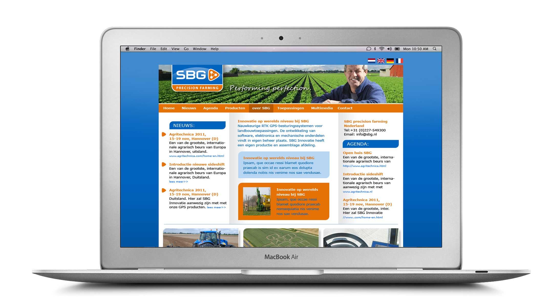SBG precision farming