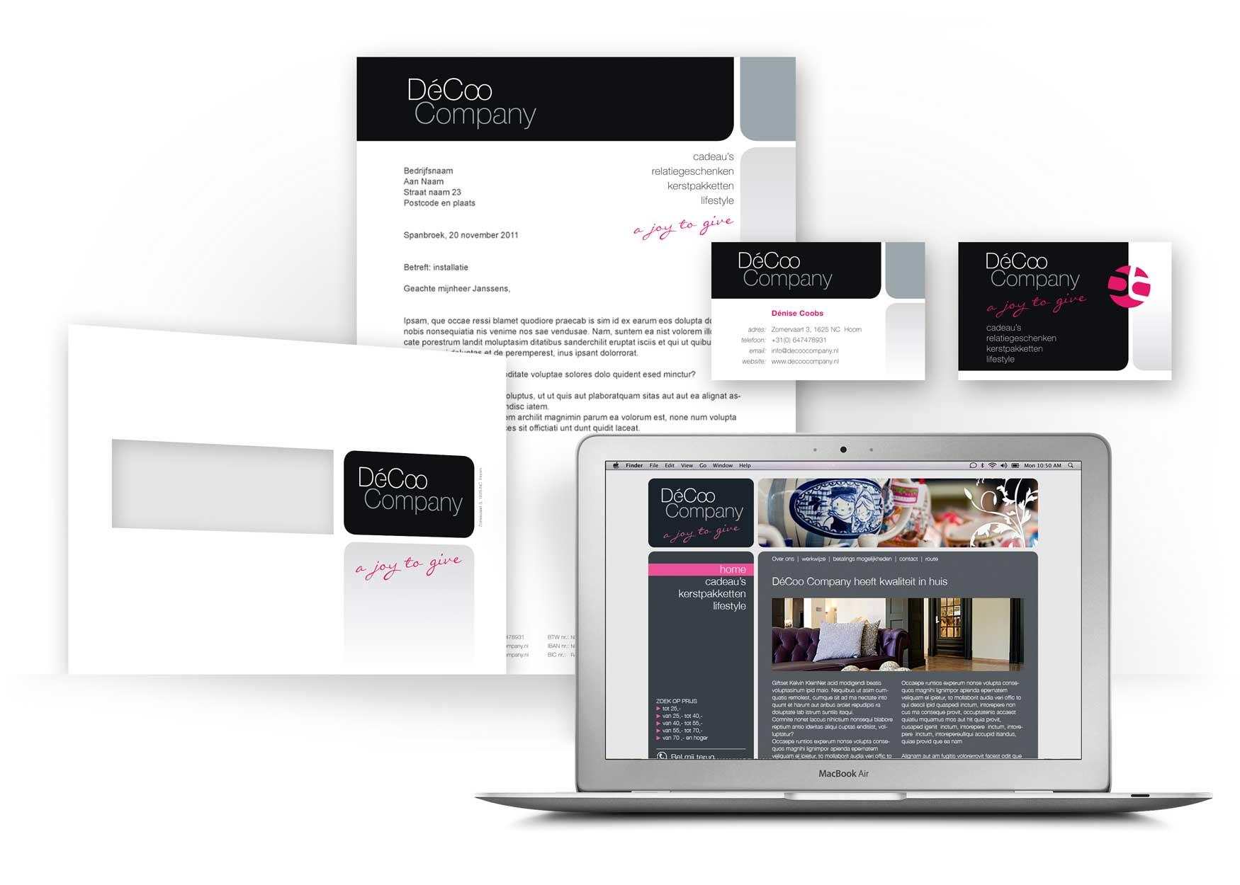 Decoo Company Huisstijl